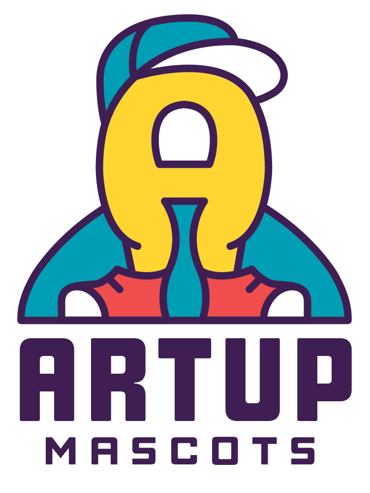 Art Up Mascot